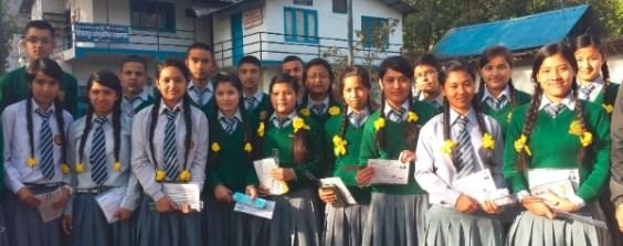 Eight Rukmini Scholars recently took the SLC Examinations