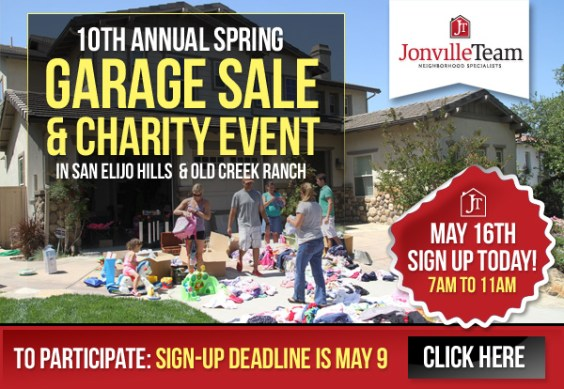 Community Garage Sale and Charity Event