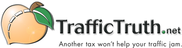 TrafficTruth.net - Another tax won't help your traffic jam.