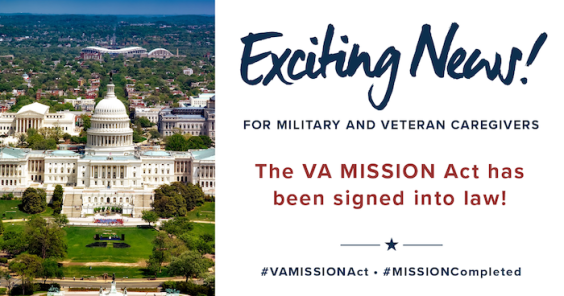 MISSION Complete! President Trump Signs VA MISSION Act into