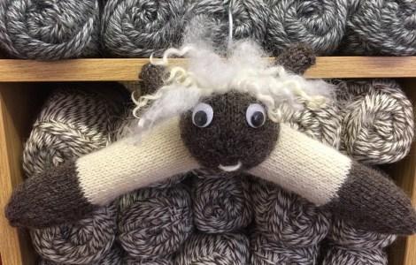 Wensleydale Sheep Coat Hanger kit