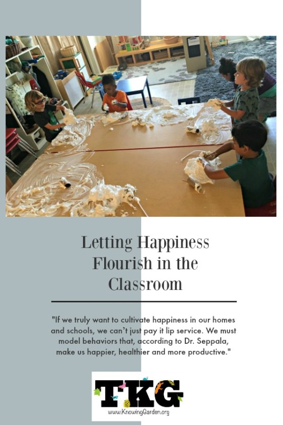 Letting Happiness Flourish in the Classroom