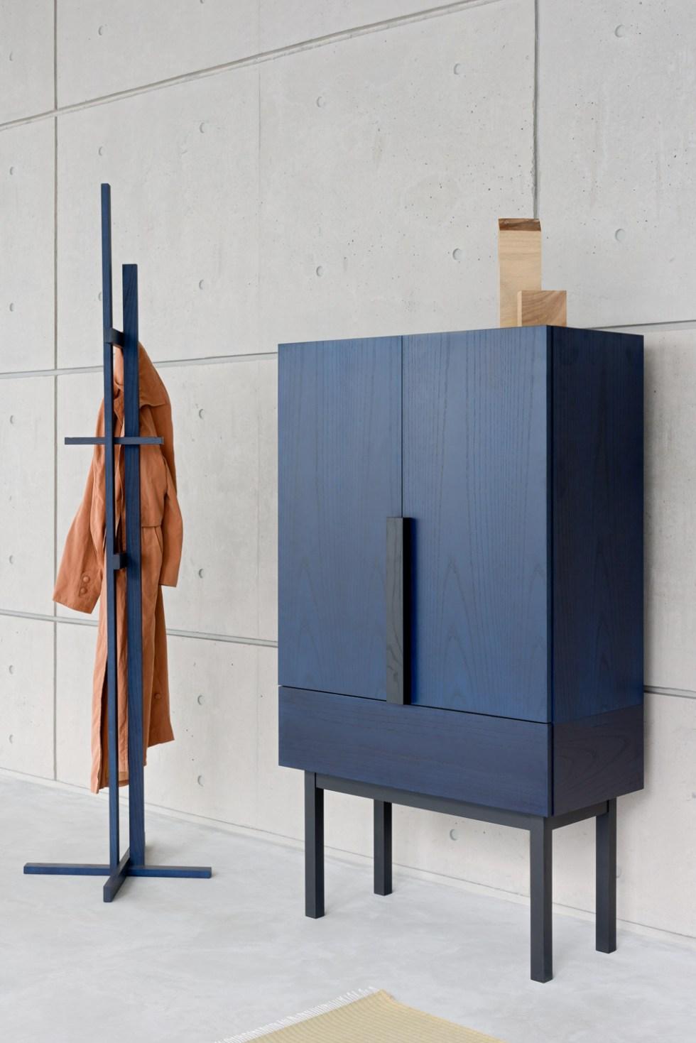 Ariake Japanese Furniture Zoe Mowat Aizome Cabinet.