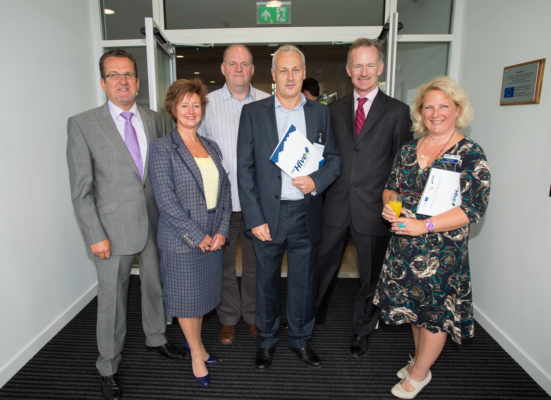 Ian and Joyce Oliver, Barry Canfield, David Madsen, John Penrose and Angela Hicks