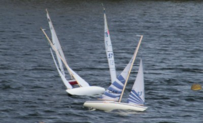 Sailing at Cranberry II Regatta 2010