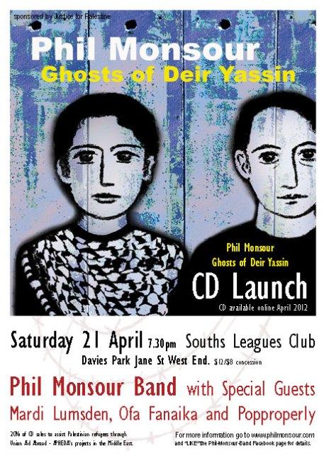 Phil Monsour CD Launch 21 april