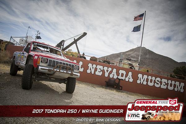 Wayne Guidinger, Jeepspeed, General Tire, GrabberX3, KMC Wheels, Tonopah 250, Bink Designs