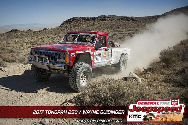 Wayne Guidinger, Jeepspeed, General Tire, KMC Wheels, King Shocks, Bink Designs