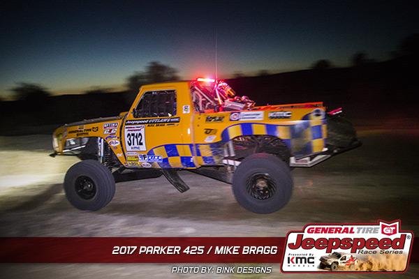 Mike Bragg, Jeepspeed, General Tire, KMC Wheels, Bink Designs