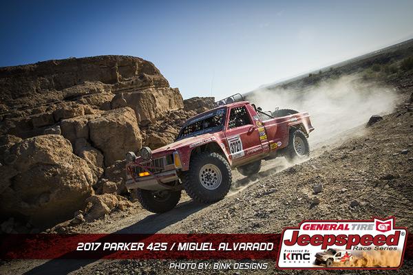 Miguel Alvarado, Jeepspeed, General Tire, KMC Wheels, Bink Designs