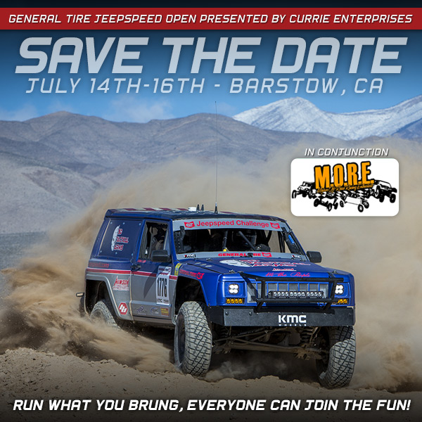 Jeepspeed Open Presented By Currie Enterprises