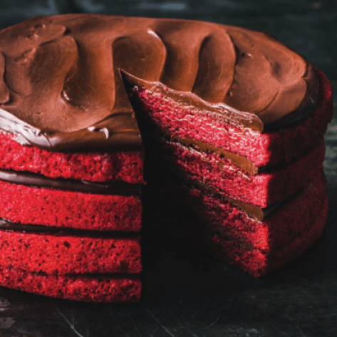 Red Velvet Beet Cake recipe from Dandelion Chocolate cookbook
