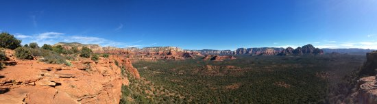 Photo from Doe Mesa, Sedona, AZ