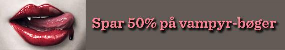 Spar 50% på vampyrbøger