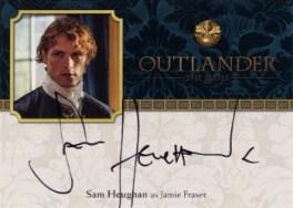Sam Heughan Autograph Card