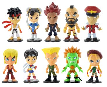 Street Fighter Lil Knockouts - Series 1