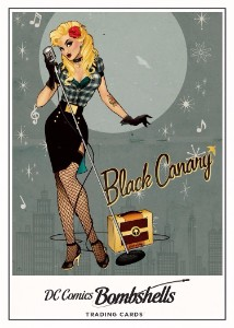 DC Bombshells Trading Cards - Chase 1 - Black Canary
