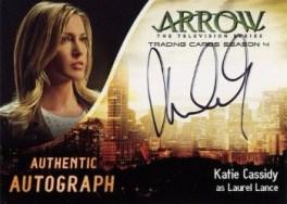 Arrow Trading Cards Season 4-Autograph Card-Katie Cassidy