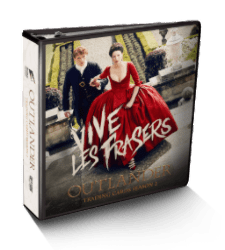 Outlander Trading Cards Season 2 Binder