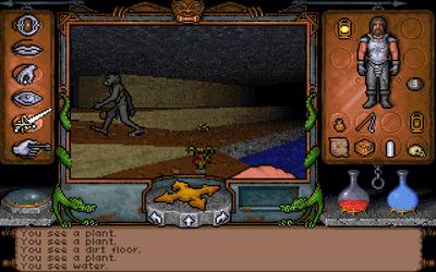 Ultima Underworld image with goblin