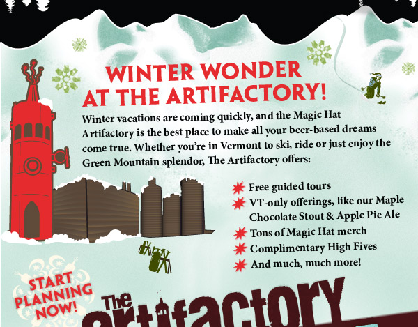 Winter Wonder at the Artifactory