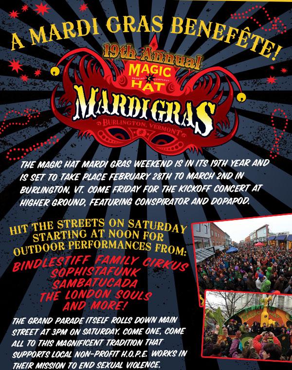 Magic Hat Mardi Gras