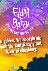 Elder Betty – A golden, Weiss-style ale with the tantalizingly tart flavor of elderberry.