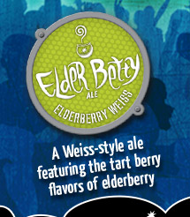 Elder Betty –A Weiss-Style Ale featuring the tart berry flavors of Elderberry
