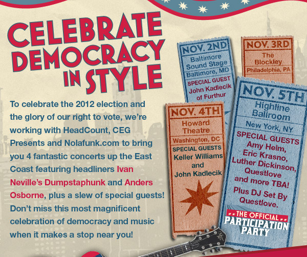 Celebrate Democracy in Style