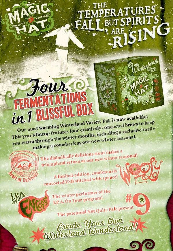 Four Fermentations in One Blissful Box