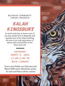 Kingsbury reception march 9