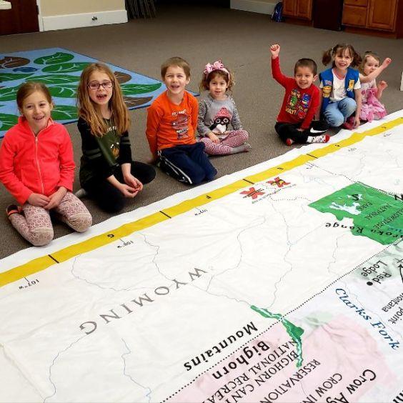 Giant Map of MT activities
