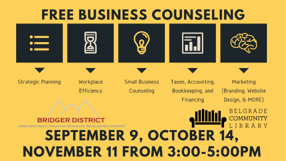 Business Counseling Flyer