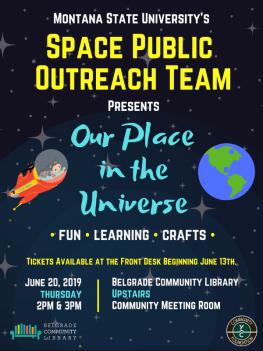 Space Public Outreach Team Flyer