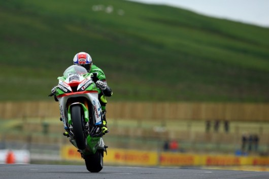 Luke Mossey was the fastest rider at Knockhill