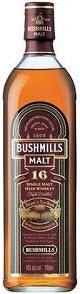 Bushmills 16 Year Old Irish Whiskey