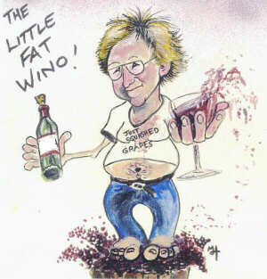 The Little Fat Wino!