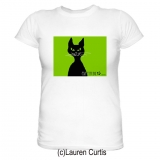 Cattitude T-shirt (c)Lauren Curtis