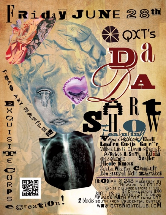 Alternative Art Show at QXT's in Newark, NJ