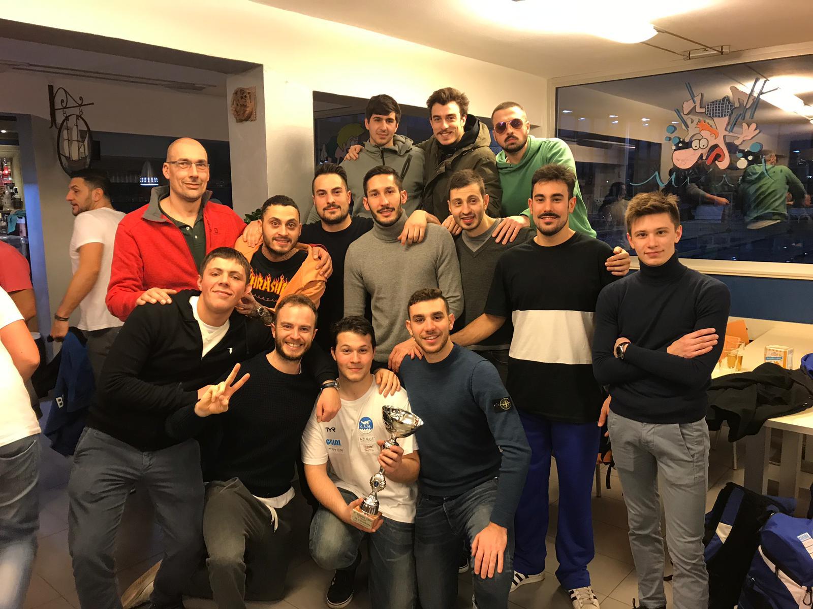La formazione G.A.M. Team Pallanuoto vince il quadrangolare precampionato
