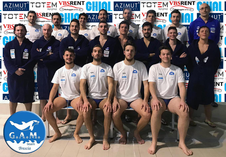 La formazione di Serie C G.A.M. Team che affronterà il Campionato 2019