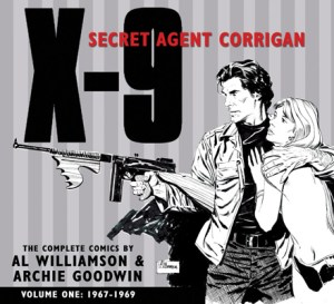 [X-9: Secert Agent Corrigan Vol 1 cover]