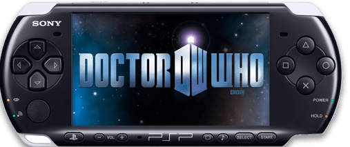 [Doctor Who comics on the PSP]