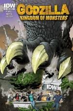 [Godzilla Kingdom of Monsters Cover 1]