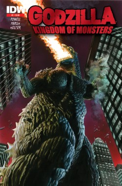 [Godzilla: Kingdom of Monsters Cover]