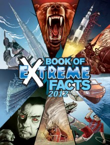The Book of Extreme Facts 2012 covewr