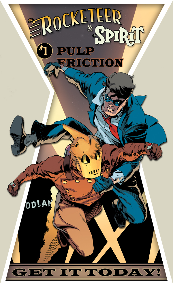 Rocketeer & Spirit: Pulp Friction #1