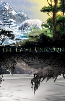 [The Last Unicorn #1 cover]