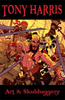 [Tony Harris: Art and Skulduggery cover]