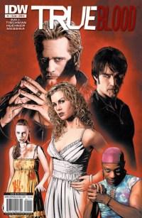 [True Blood #1 cover by Joe Corroney]